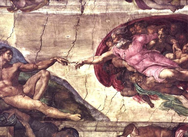 From Michelangelo's Sistine Chapel