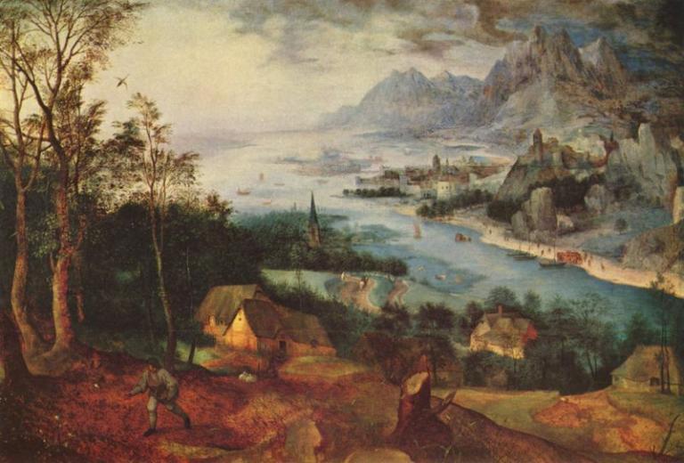 "Bruegel's ""Sower"""