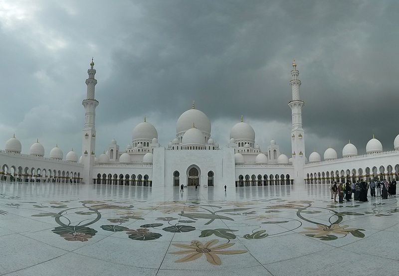 UAE's most recent grand mosque