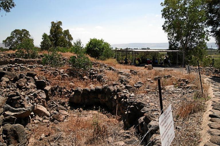 Bethsaida ruins