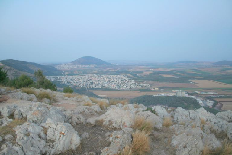 Mount Tabor from Mount Precipice