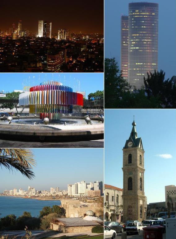 A postcard from Tel Aviv
