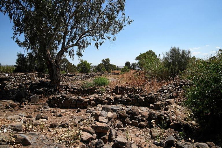 The ruins of NT Bethsaida