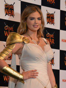 """Kate Upton, for """"Game of War"""""""