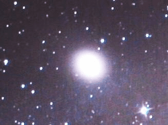 M32, surrounded by unrelated stars