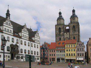 Wittenberger Marktplatz