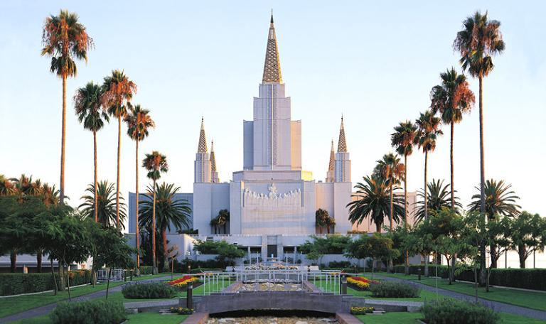 California's second temple