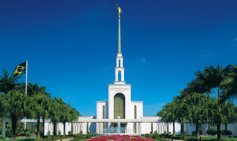The first Brazilian temple