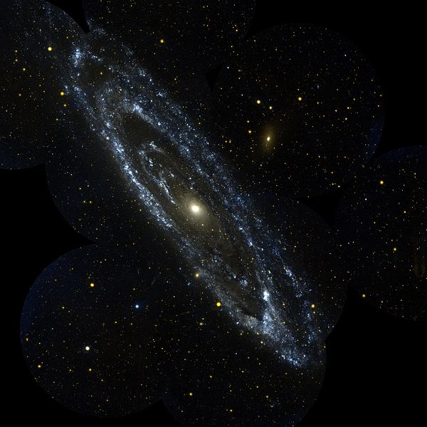 Andromeda Galaxy, from JPL