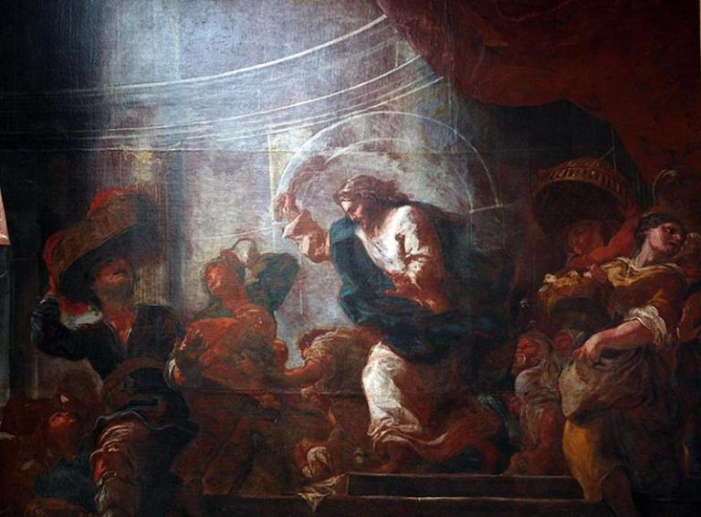 Driving the moneychangers out of the Temple