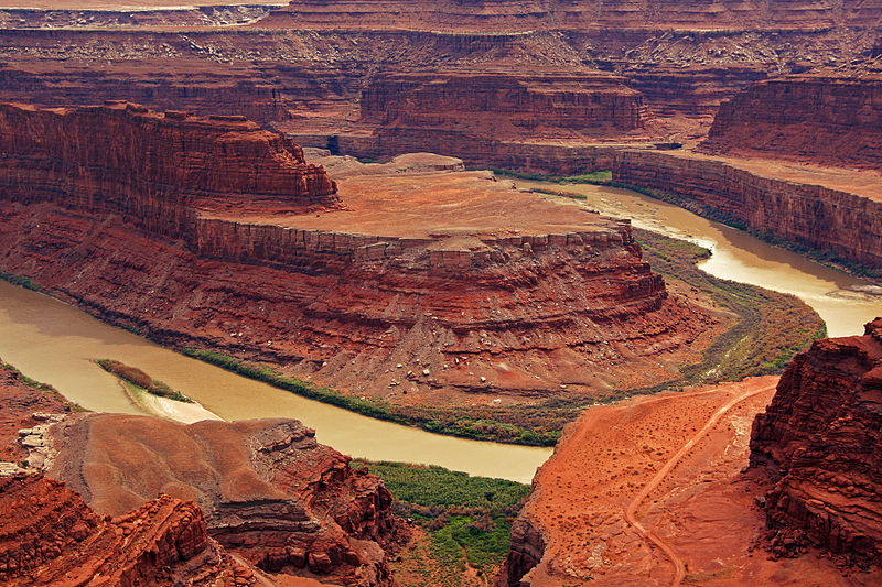 In Utah's Dead Horse Point State Park