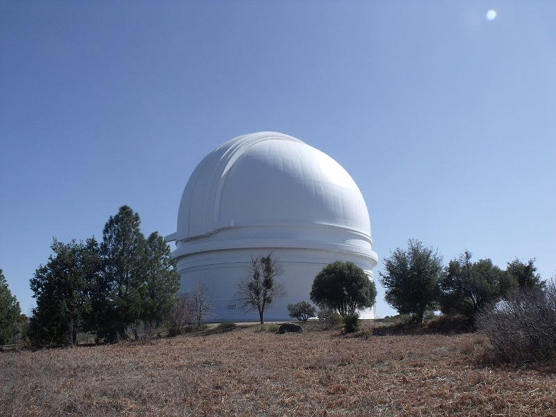 Observatory at Mt. Palomar