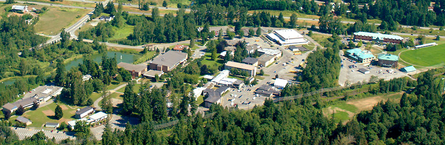 TWU campus in Fraser Valley, BC