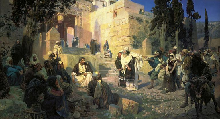 Polenov on John 7:53-8:11