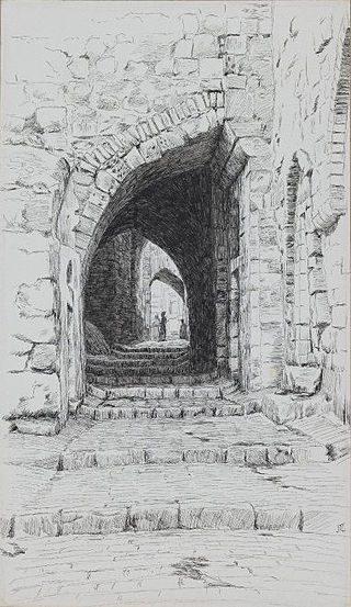 Tissot, scene in Jerusalem