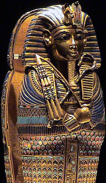 King Tut's coffinette