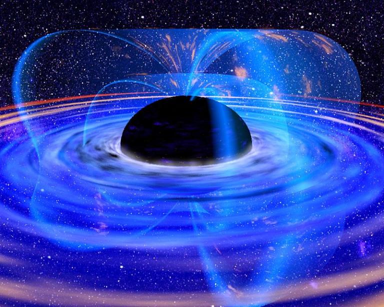 Black hole from NASA