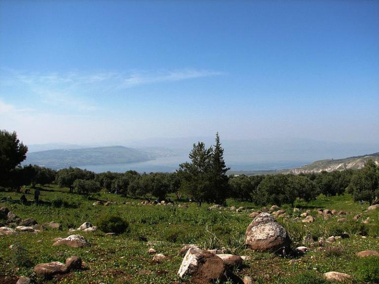 Galilee from Jordan