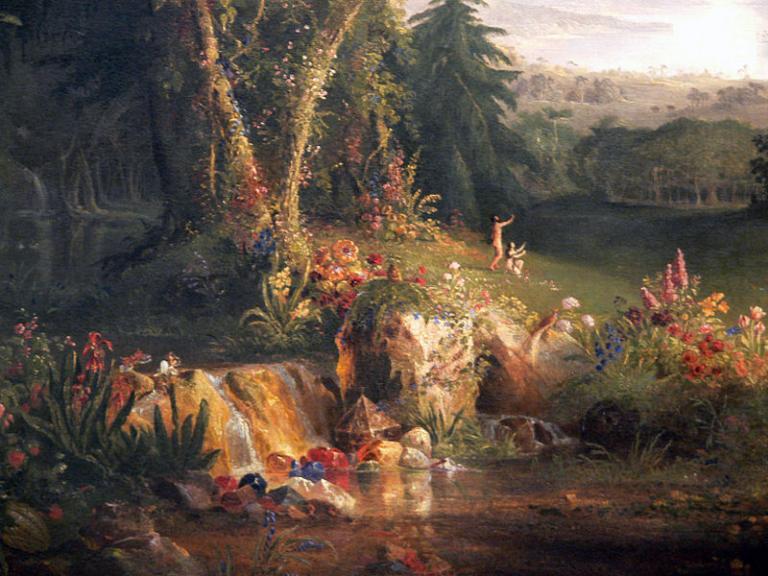 """Cole, """"Garden of Eden"""""""