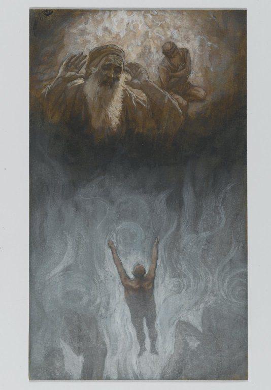 James Tissot Dives and Lazarus