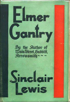 Cover of Lewis's novel, first edition