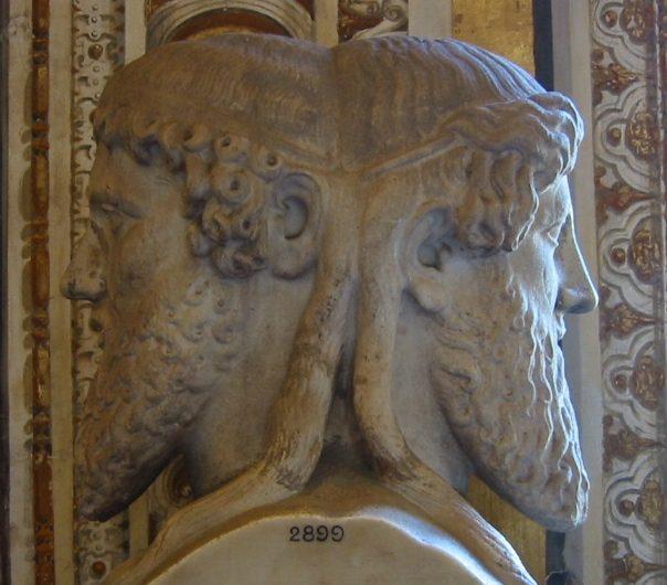 Bust of Janus