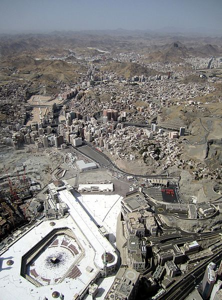 Makkah from the air