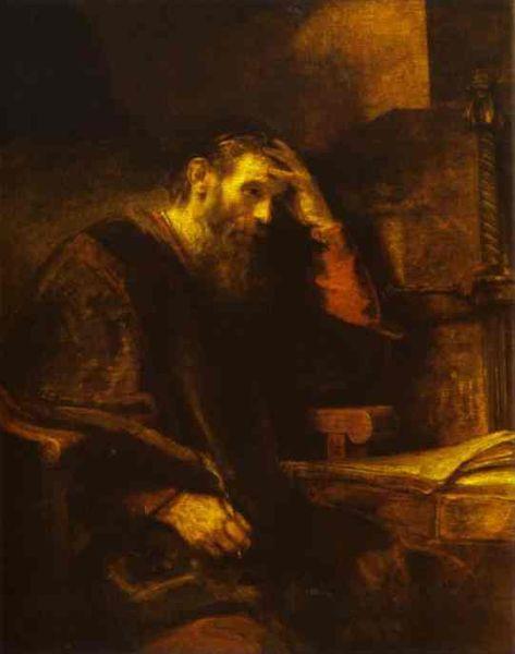 Rembrandt's Paul
