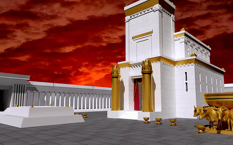 Reve's reve of the Solomonic temple