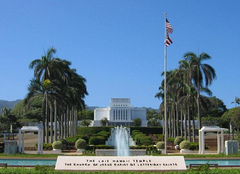 Hawaii's very first LDS temple