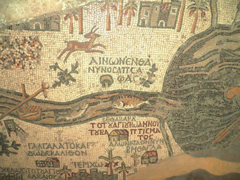 Madaba Map detaill