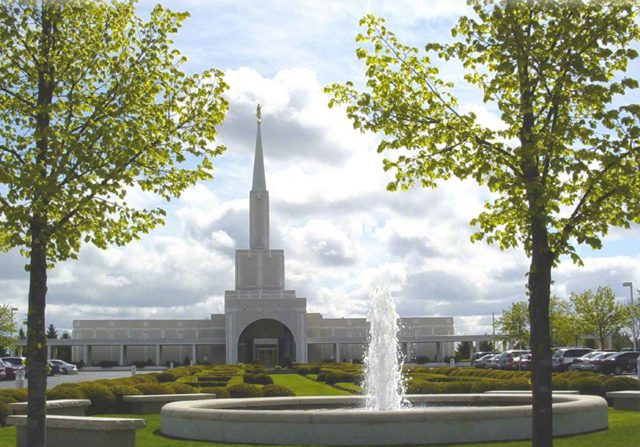 Canada's second temple