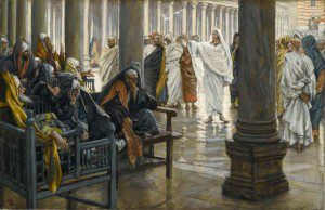 Tissot's Jesus, scribes, and Pharisees