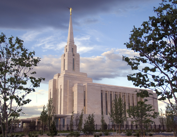 The fourth temple in the Salt Lake Valley