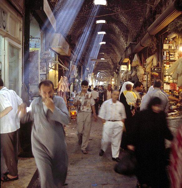 Aleppo's medieval bazaar