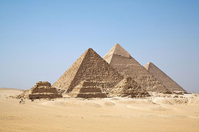 On the Giza plateau