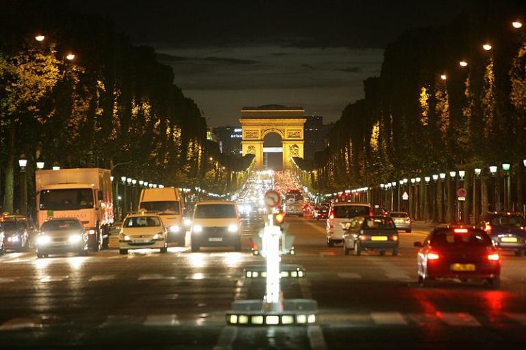 Paris's main drag
