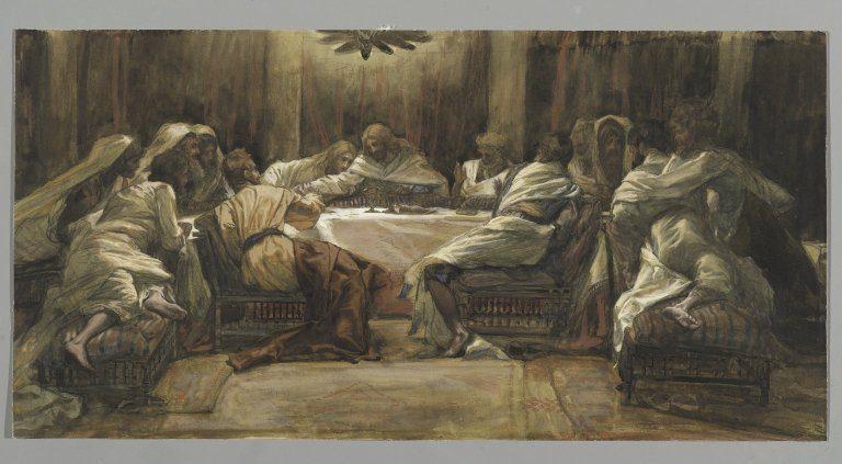 Tissot Last Supper Judas