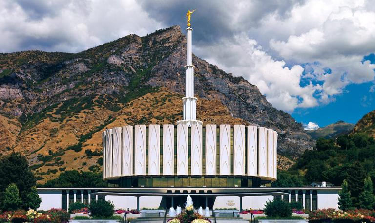 Utah Valley's first temple