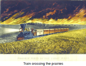19th-century train