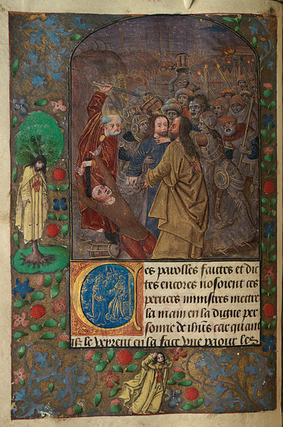 Welch library ms illumination