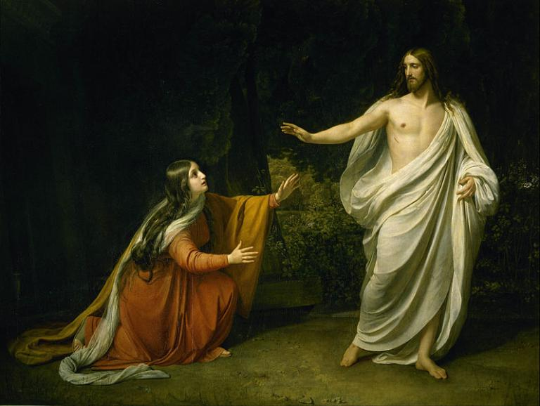Jesus and Mary M