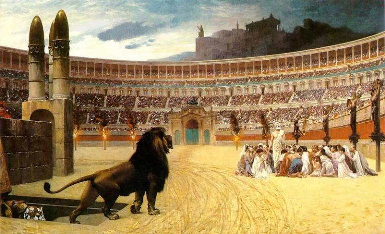 Christians v. Lions