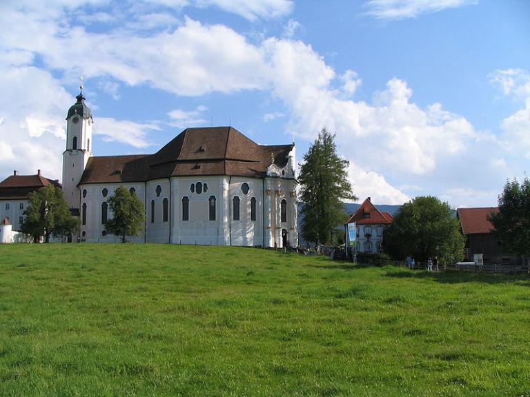 Die Wieskirche in Bayern