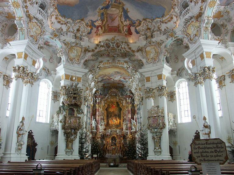 Innerhalb der Wieskirche