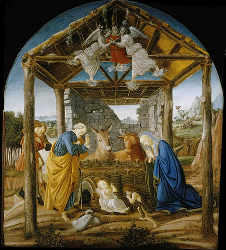 Botticelli Nativity