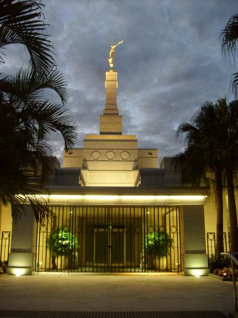 The temple in Brisbane