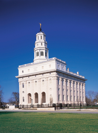The second temple in Nauvoo