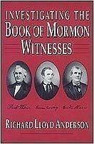 Cover of R. L. Anderson's book on Witnesses