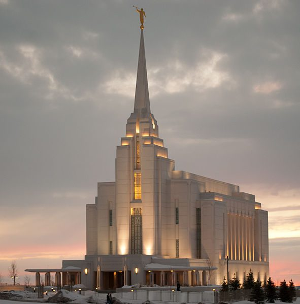 Idaho's third temple?